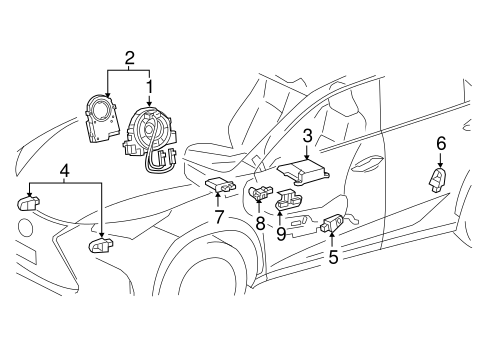 Lexus Is250 Replacement Parts