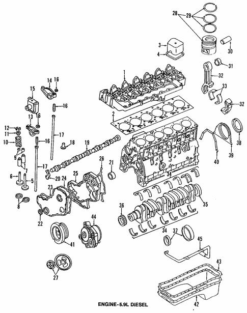 engine for 1999 dodge ram 2500