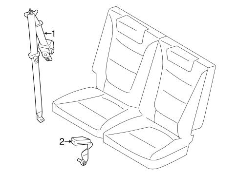 Third Row Seat Belts Scat