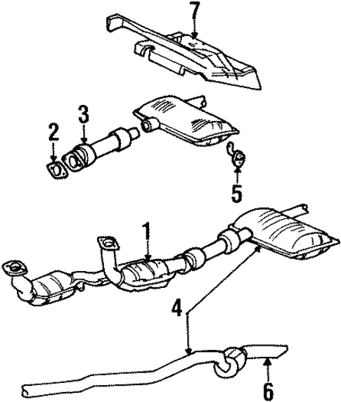 Exhaust Components For 2001 Ford Windstar