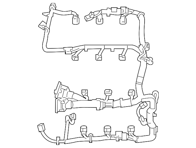 Ford Flex Engine Wiring Harness Ae9z12a581fa: Basic Sel Engine Wiring Diagram At Downselot.com