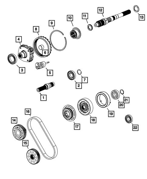 Genuine MOPAR Thrust Washer 68089696AC