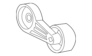 Belt Tensioner - Ford (F8UZ-6B209-CA)