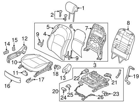 Heated Seats For 2015 Kia Cadenza