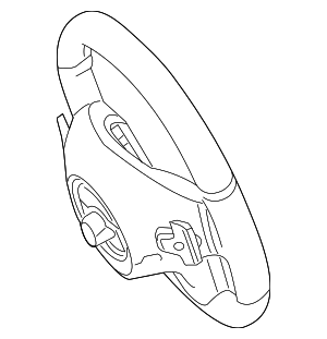 Steering Wheel - Mercedes-Benz (000-460-20-03-9E38)