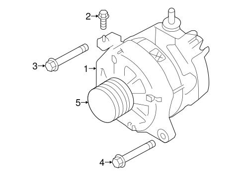 Alternator For 2017 Subaru Impreza