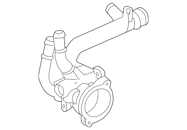 Genuine Gm Thermostat Housing 12597172