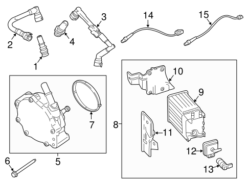 Emission System/Emission Components for 2012 Ford Expedition #2