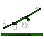 Drive Shaft - Ford (HP5Z-4R602-A)