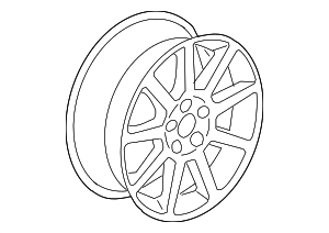 Wheel, Alloy - GM (9597756)