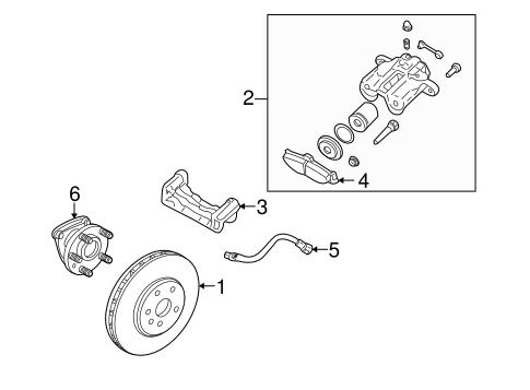 rear brakes for 2005 cadillac srx