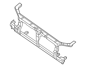 Radiator Support - Nissan (F2500-ZL8MA)