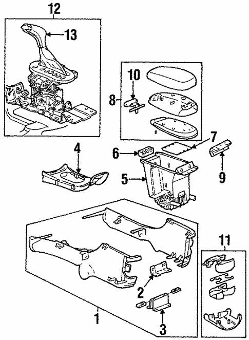 1999 Oldsmobile Intrigue Parts Diagram