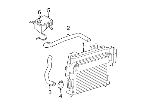 Radiator And  ponents Scat further 97 Gmc Sierra V6 Engine Diagram in addition Serpentine Belt Diagram 2011 Hyundai Santa Fe V6 35 Liter Engine 04656 together with Oil Pump Replacement Cost in addition T18153301 99 jeep grand cherokee 4 7. on 4 0 jeep grand cherokee water pump replacement