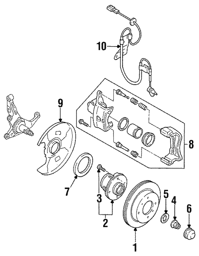 Washer - Nissan (40264-0P001)