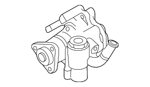 Power Steering Pump - Volkswagen (7L8-422-154-J)