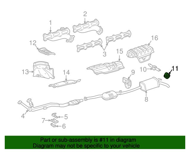 Muffler pipe holder mercedes benz 210 492 03 44 for Mercedes benz parts by vin number