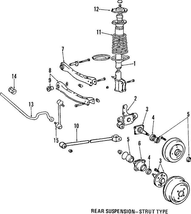 Shock Absorber - Toyota (48530-12201)