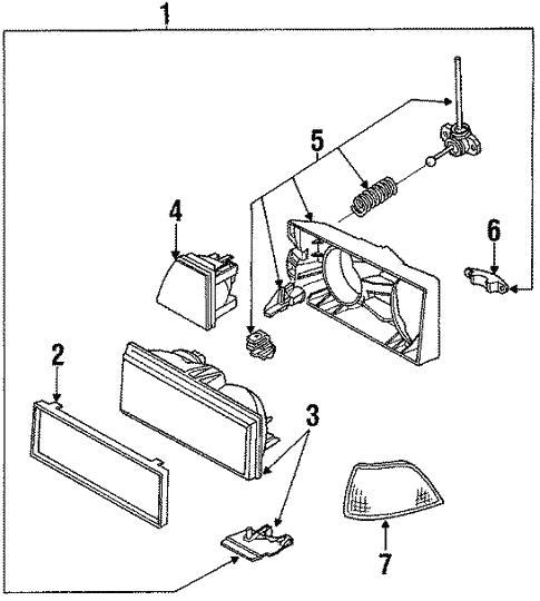 1989 Chevy Z24 Wiring Harnes