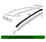 Roof Rack - Mopar (5UQ36DX8AD)