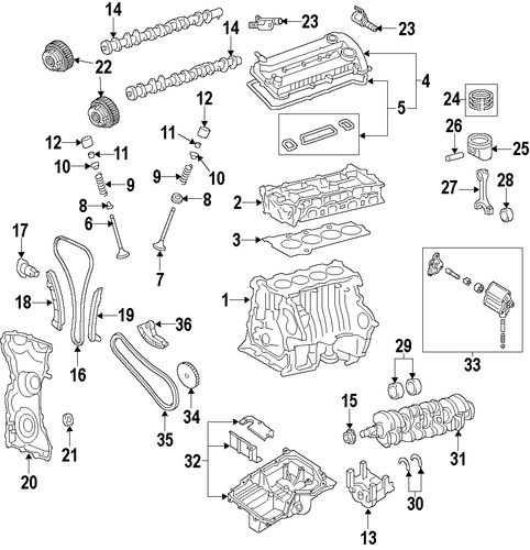 2012 Lincoln Mkt Head Gasket: Ford Parts Catalog