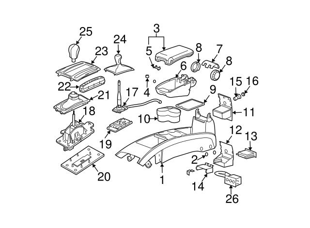 32 2003 Cadillac Cts Parts Diagram