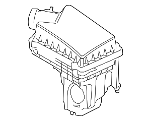 Air Cleaner Assembly - Land-Rover (LR006068)