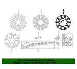 Space Saver Spare Wheel - Land-Rover (LR033229)