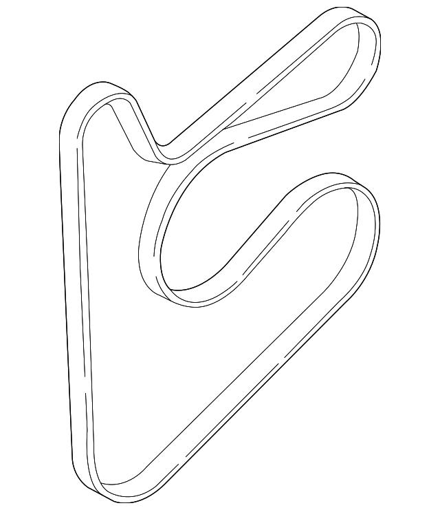 Serpentine Belt Micro-V Gates K060700 for Hyundai Elantra GT Kia Soul