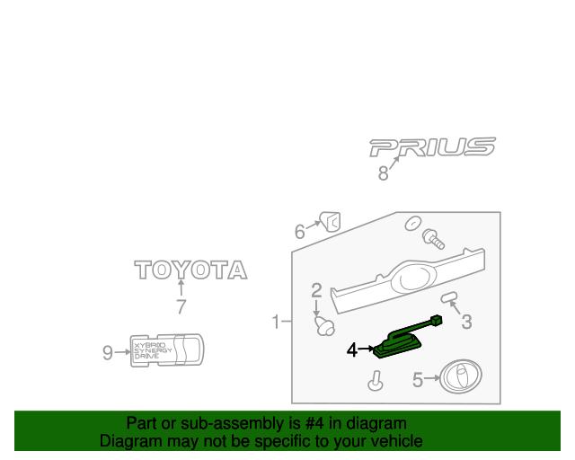 Switch Toyota 84905 47010 Camelback Toyota Parts