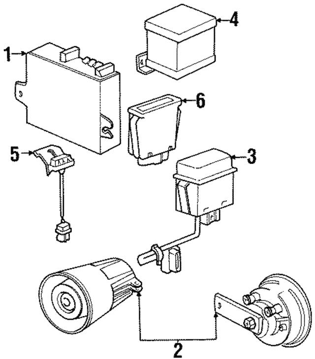 1991 2003 Bmw Sensor 65 75 6 923 208