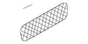 Cargo Net - Mercedes-Benz (211-814-00-07-9C44)