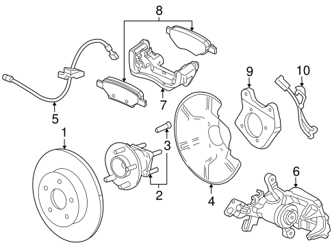 Brake Components for 2014 Chevrolet Cruze #0