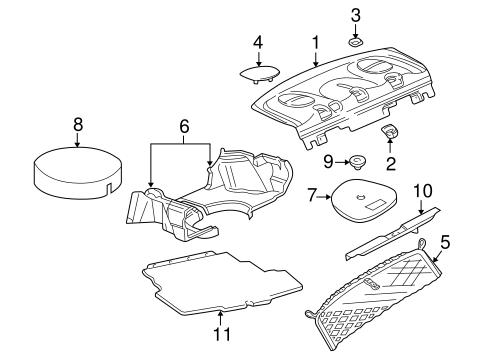 Oem 2005 Chevrolet Impala Interior Trim
