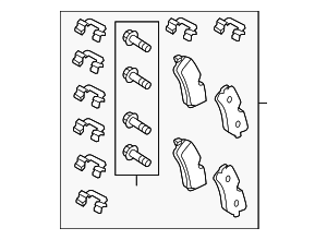 Brake Pads - Land-Rover (LR079910)
