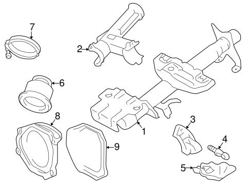 Housing Components For 1998 Toyota Rav4