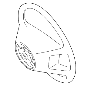 Steering Wheel - Mercedes-Benz (170-460-28-03-9C29)