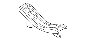 Muffler & Pipe Front Bracket - Ford (8A8Z-5A204-A)