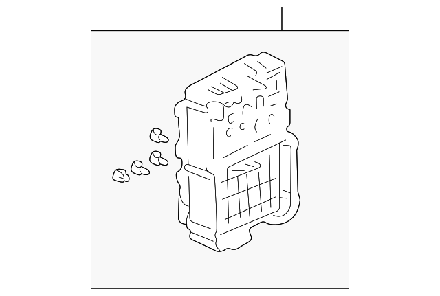 box assembly  passenger fuse