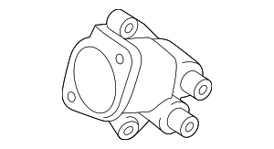 Thermostat Housing - Toyota (16323-0T021)