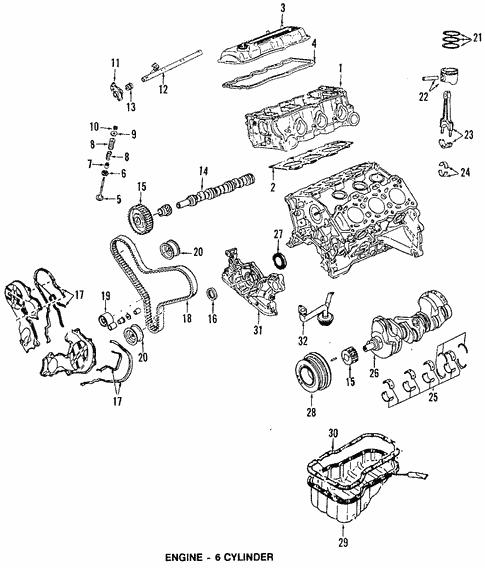 Oil Pan for 1997 Mazda MPV   Team Mazda PartsTeam Mazda Parts