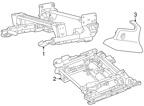Tracks Components For 2004 Jaguar X Type
