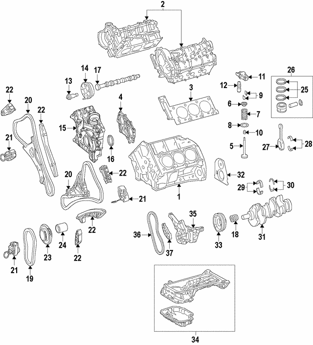 Chain Guide - Mercedes-Benz (276-052-21-16)