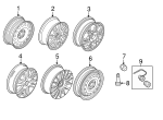 Wheel, Alloy - Ford (8S4Z-1007-F)