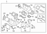AC & Heater Assembly - Volvo (31332418)