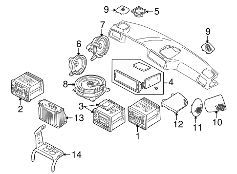 Sound System For 1998 Volvo S70