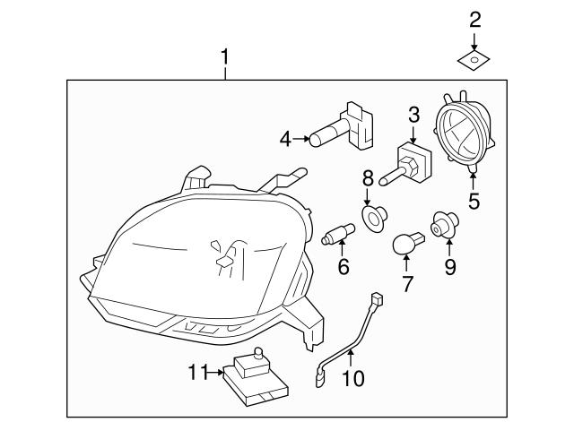 2003 2018 Ford Signal L Bulb Socket 2u5z 13411 Sa: 2013 Ford Escape 2 0l Diagram At Sergidarder.com