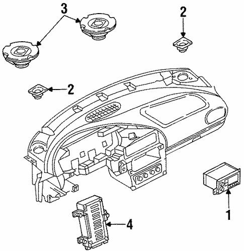 Sound System For 1999 Chrysler Sebring