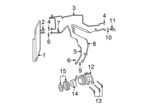 dodge ram 1500 fuel system diagram condenser  compressor   lines for 2010 dodge ram 1500 big mopar  lines for 2010 dodge ram 1500