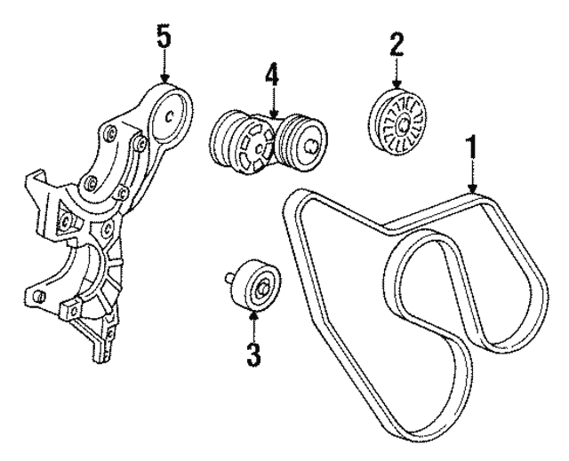 Serpentine Belt - GM (19244944)